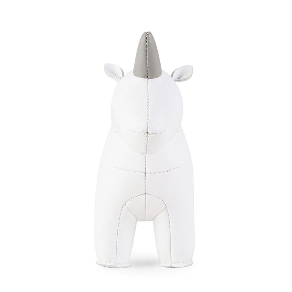 Zuny: Paperweight Unicorn White - white