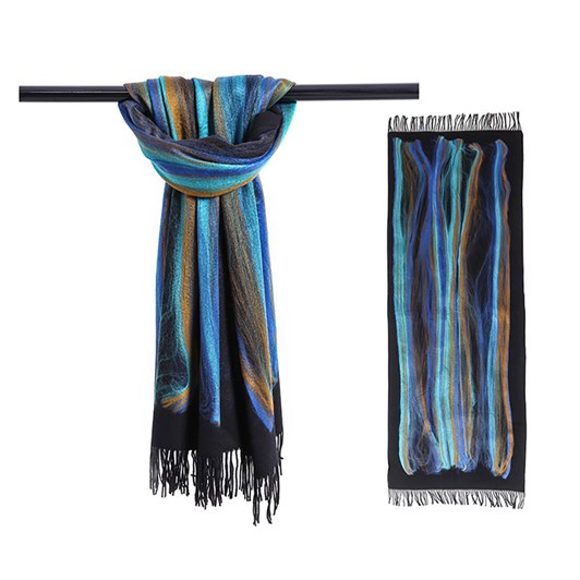 J J Sisters Woven Cotton Viscose Printed Scarf