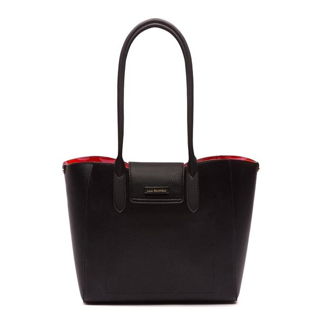 4fedabc710e53e Bags - Lulu Guinness Large Cupids Bow Sofia W/Lip Print Lining Black ...