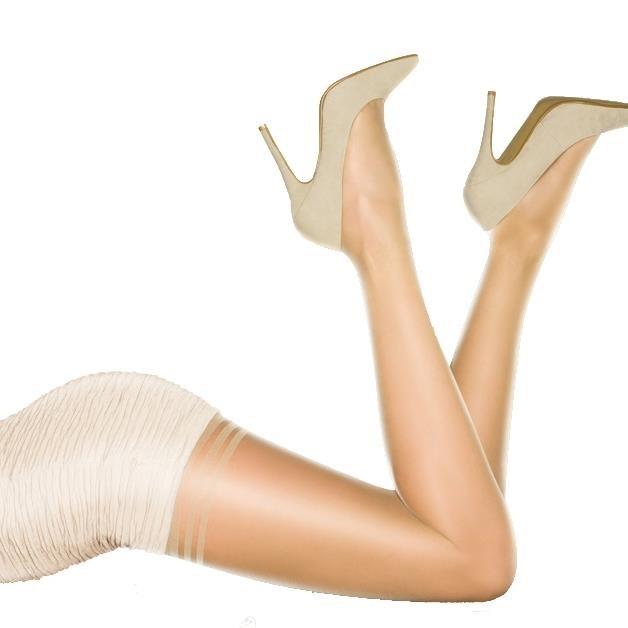 Pretty Polly Gloss 10 Denier Secret Slimmer -