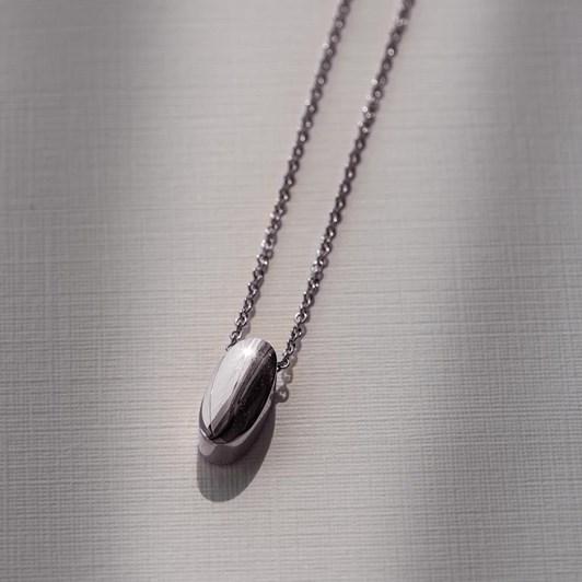Love In A Jewel The Amavi Pendant (Silver) Plain
