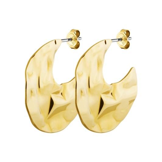 Dyrberg Kern Granite Shiny Gold Earring