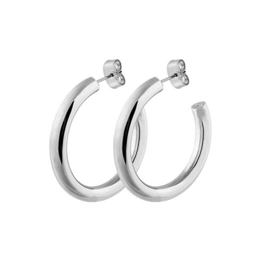 Dyrberg Kern Cirkula Shiny Silver Earring