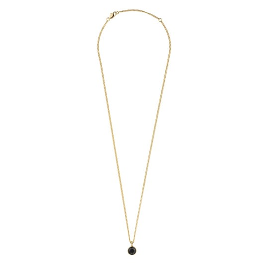 Dyrberg Kern Ette Sg Black Necklace