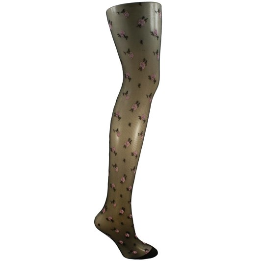 Columbine Coloured Flower Tights