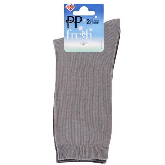 Pretty Polly Cotton Modal Ankle Socks 2PP
