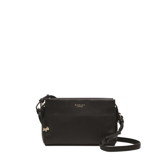 Radley Abbotsford House Small Crossbody Ziptop Leather Bag