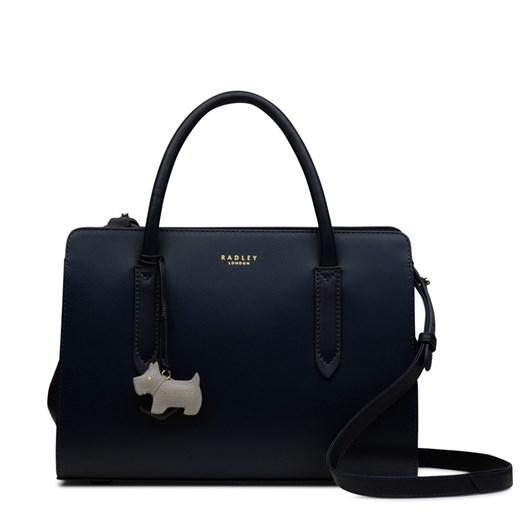 Radley Liverpool Street Medium Multiway Grab Ziptop Leather Bag
