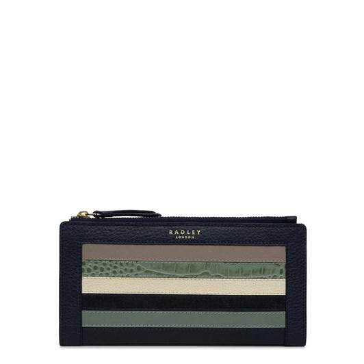 Radley Eltham Palace Stripe Large Matinee Wallet
