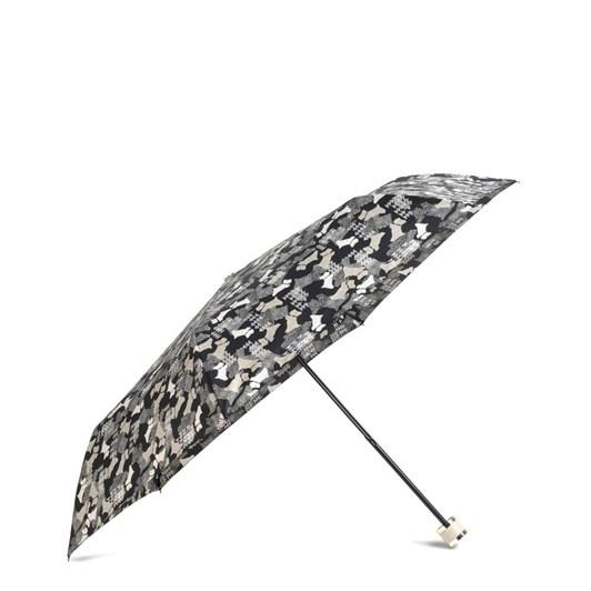 Radley Data Dog Mini Telescopic Umbrella