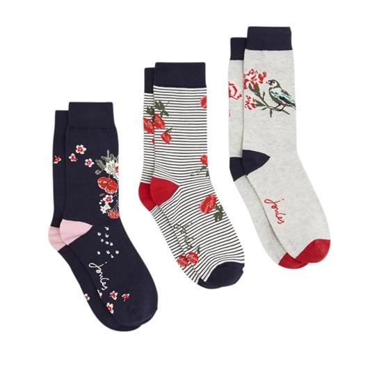 Joules Brilliant Bamboo 3Pk Socks