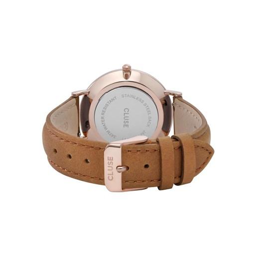 Cluse  La Boheme Rose Gold White/Caramel Watch