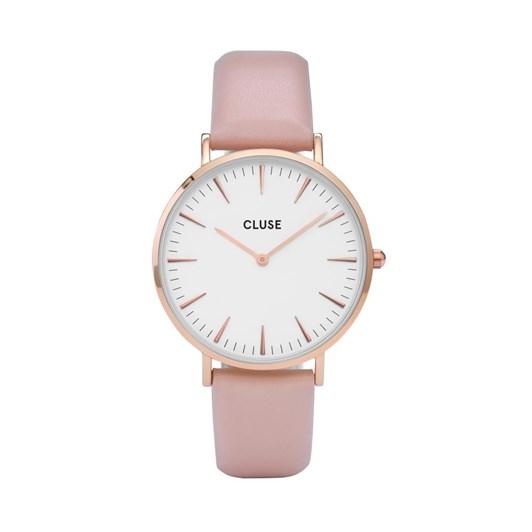 Cluse  La Boheme Rose Gold White/Pink Watch