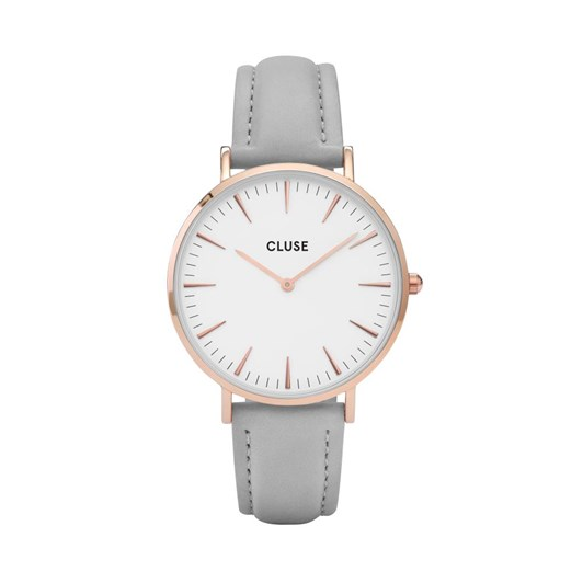 Cluse  La Boheme Rose Gold White/Grey Watch