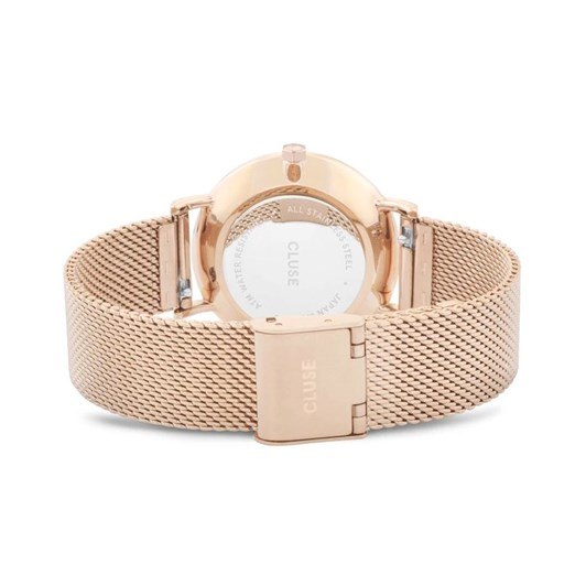 Cluse Minuit Mesh Rose Gold White/Rose gold