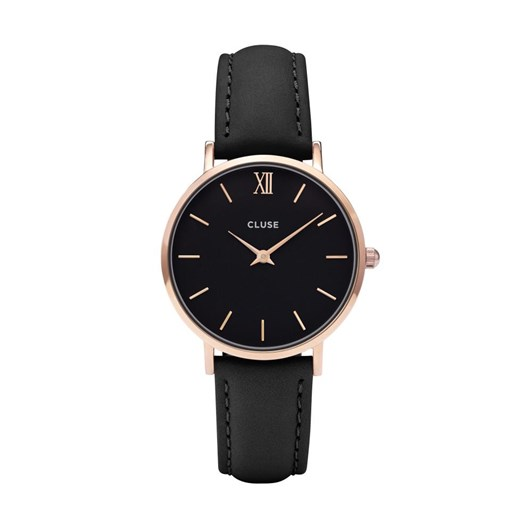 Cluse Minuit Rose gold black /black watches