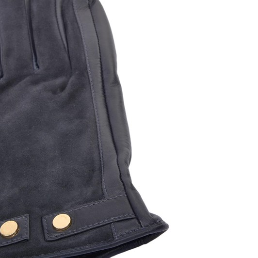 Ashwood Leather Glove with Suede