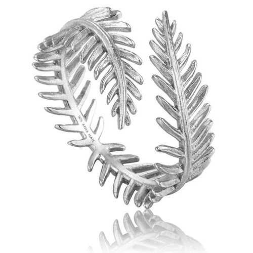 A.Haie Tropic Palm Leaf Adjustable Ring