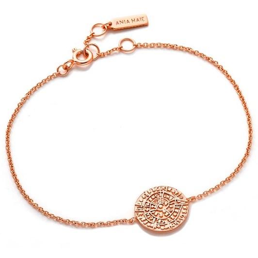 A. Haie Coins Chain Bracelet