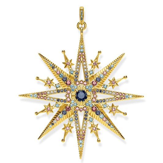 Thomas Sabo Kingdom Of Dreams Star Ylw Gp Pendant