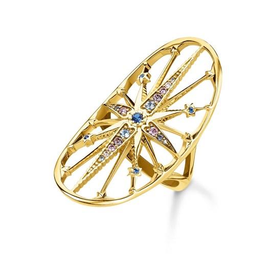 T.Sabo Kingdom Stars Cz Ylw Gp Ring