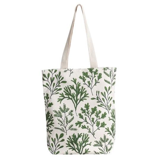 Seasalt Canvas Shopper Seaweed Hedgerow
