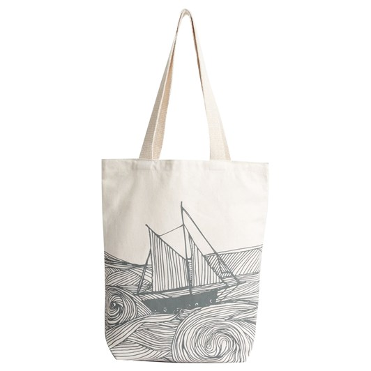 Seasalt Canvas Shopper Boat Flint