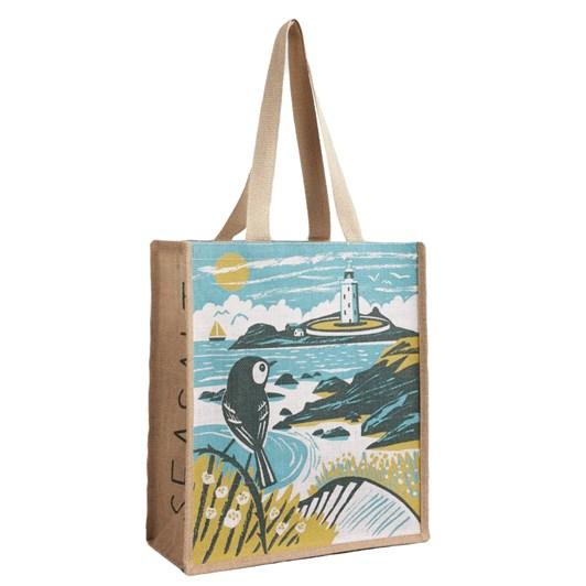 Seasalt Jute Shopper To The Lighthouse