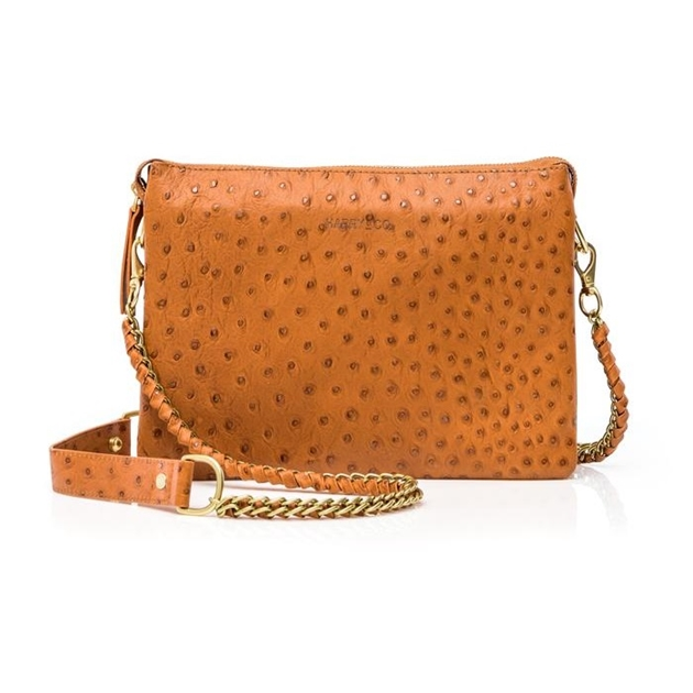 Harry & Co Everywhere (Chain Strap) - tan ostrich