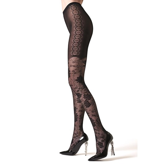 La Perla Floral Tights