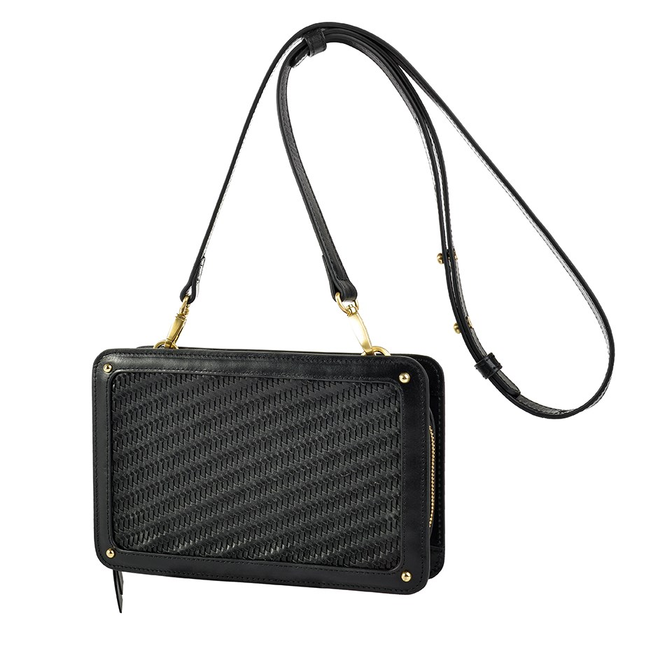 Sancia The Elodie Clutch - black