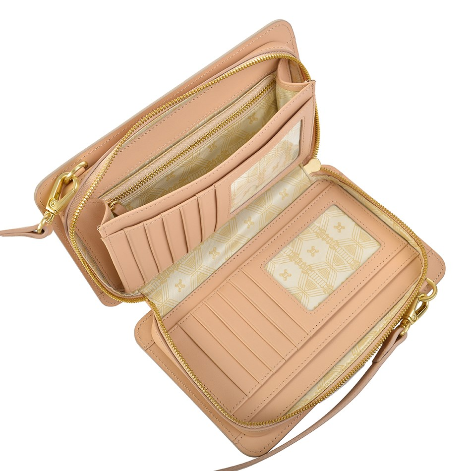 Sancia The Elodie Clutch - blush