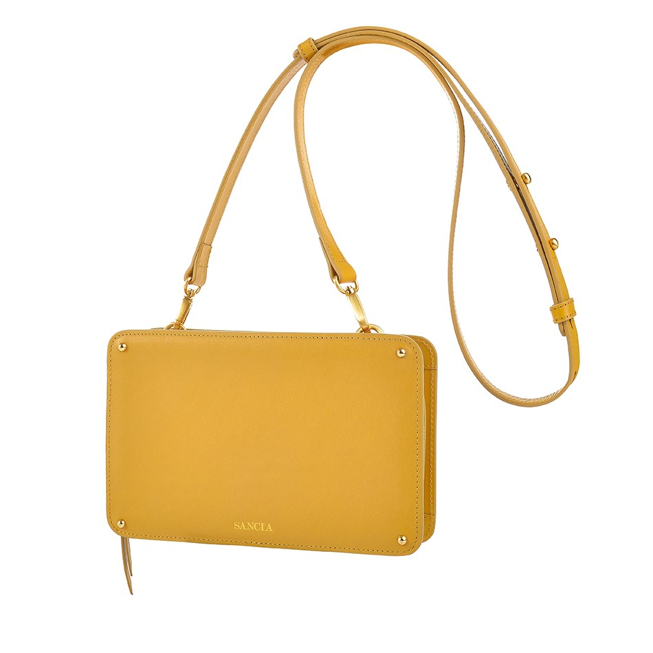 Sancia The Elodie Clutch - honey