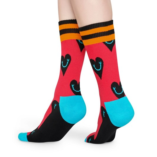 Happy Socks Athletic Smiley Heart Sock