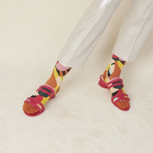Hysteria Betty Mid High Sock