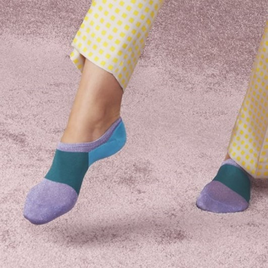 Hysteria Isa Invisible Sneaker Sock