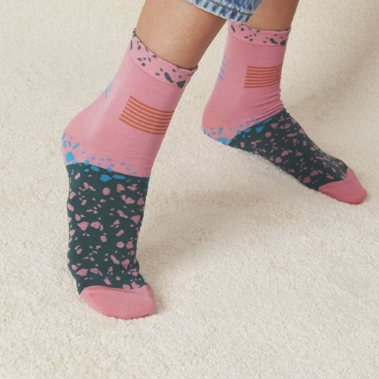 Hysteria Ruby Ankle Sock
