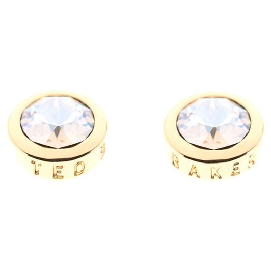 Ted Baker Round Crystal Stud Earrings