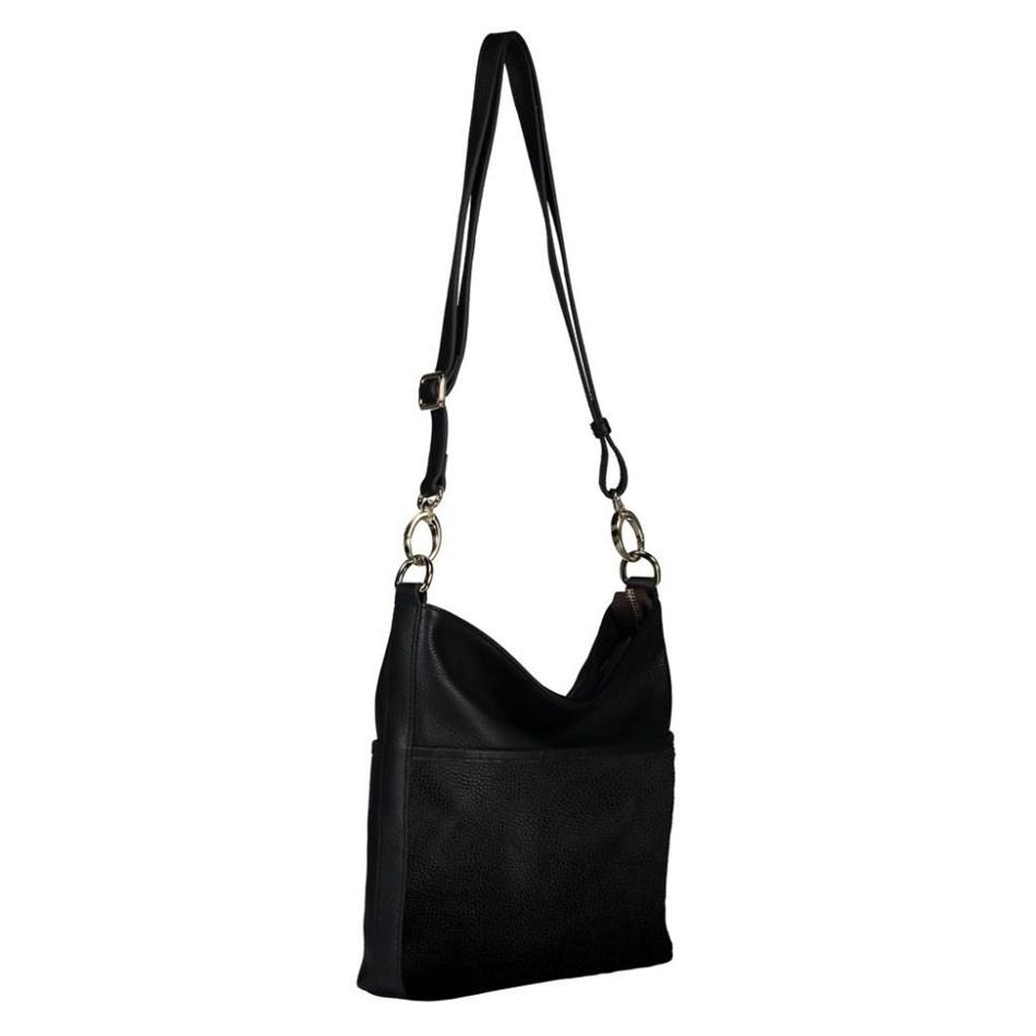 Saben Cami 2.0 Leather Handbag - black