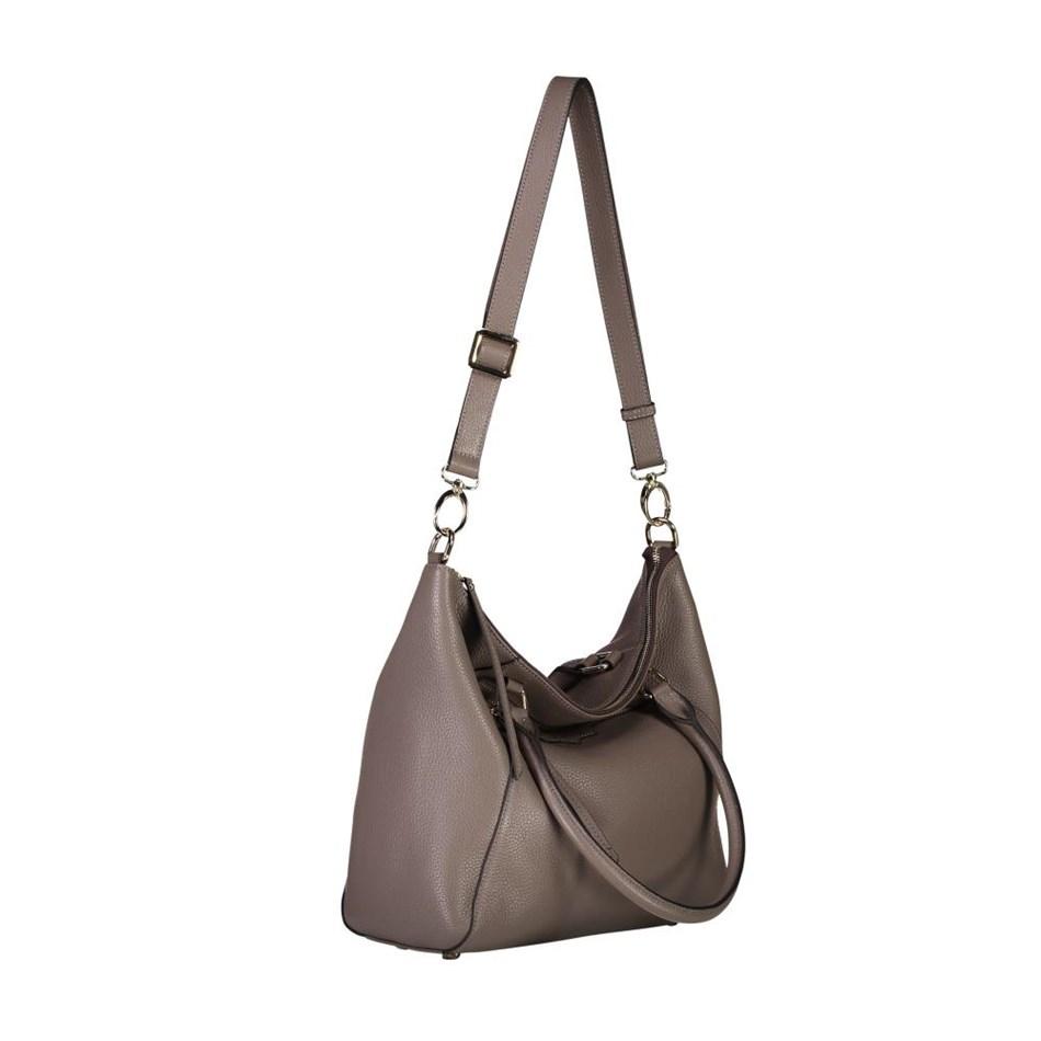 Saben Gita 2.0 Leather Handbag - smoke
