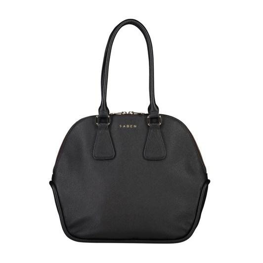 Saben Olive Leather Handbag