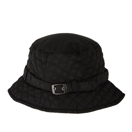 Dents Quilted Bucket Hat With Strap And Buckle Detail (Water Resistant)