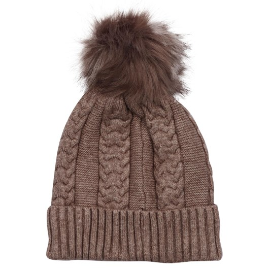 Headstart Cashmere Cable Beanie Lined