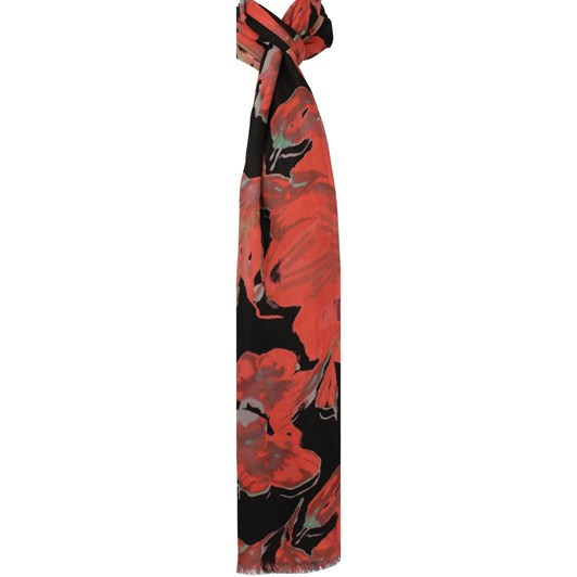 Alice & Lily Winter Weight Floral Viscose Scarf