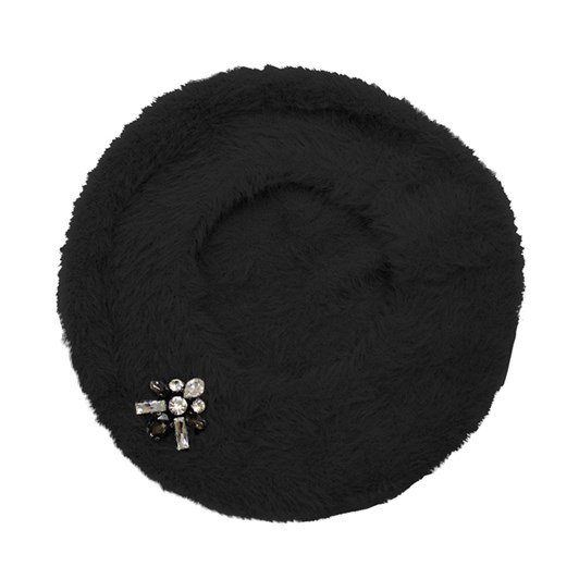Jendi Beret With Crystal Detail