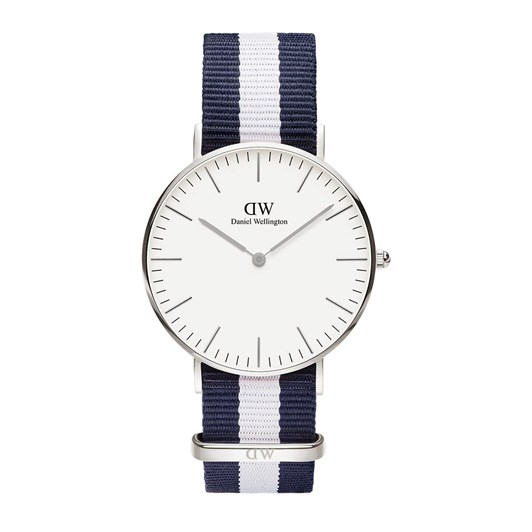 Daniel Wellington Classic Silver Watch Glasgow 36mm