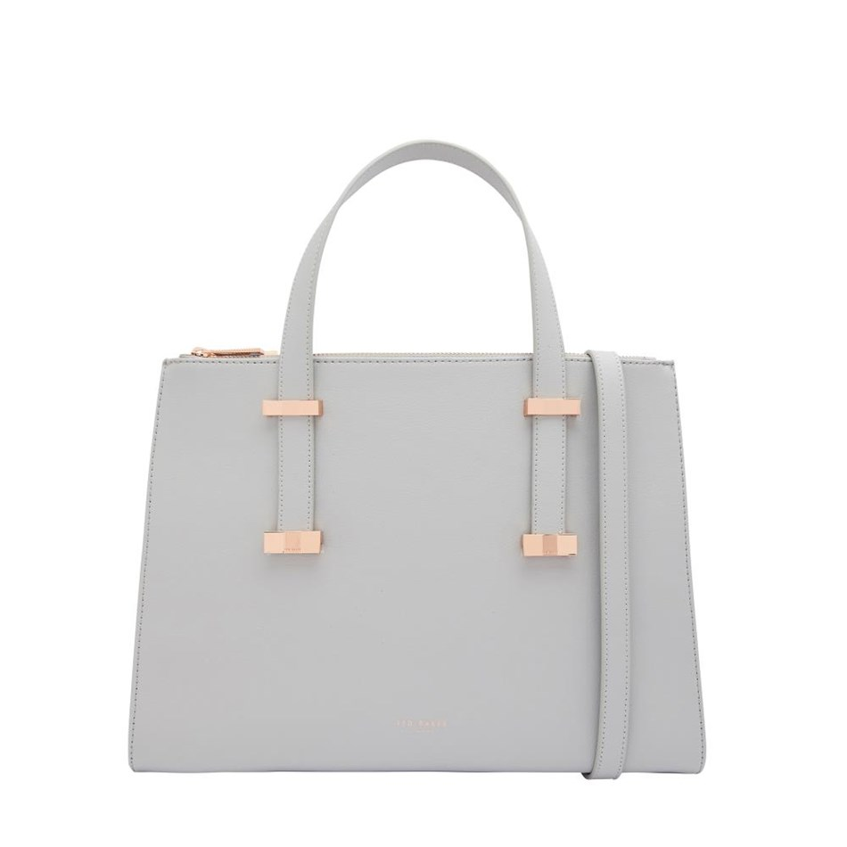 Ted Baker Bow Adjustable Handle Lrg Tote - 05 grey