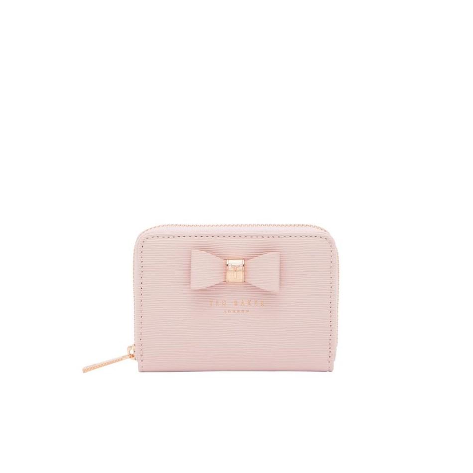 Ted Baker Textured Sml Zip Purse - 58 light pink