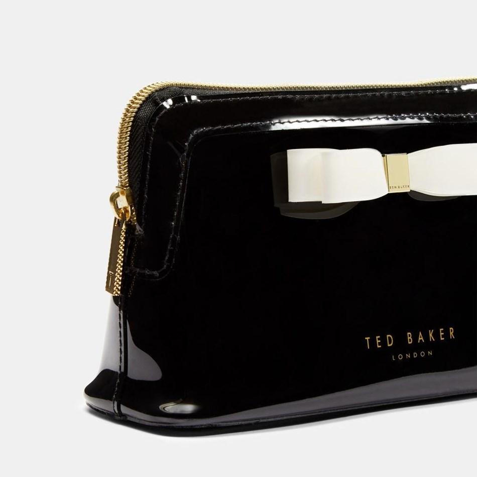 Ted Baker Bow Makeup Bag - 00 black