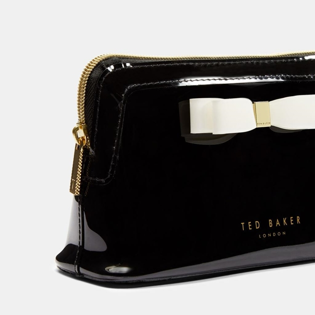 Ted Baker Bow Makeup Bag - 00 black